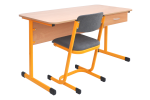 School chair Lava - upholstered